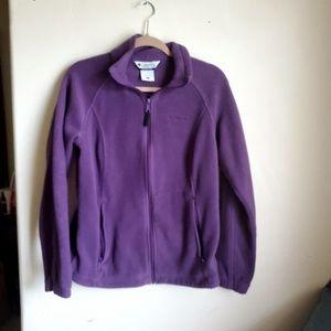 Columbia full zip sweater